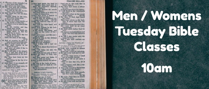 Men And Womens Bible Class
